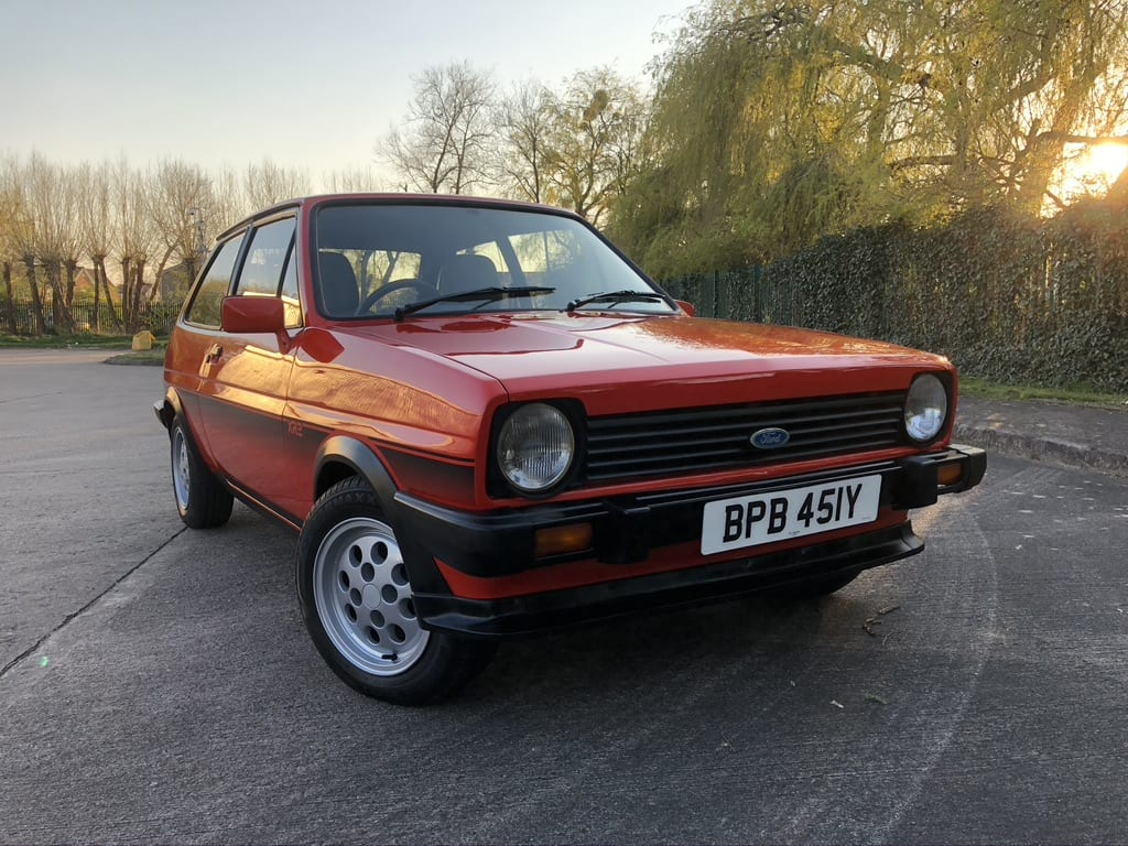 myCar UK - 1984 Ford Fiesta XR2 1.6 Mk1