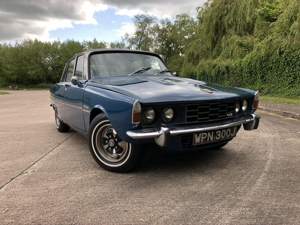 myCar UK - 1970 Rover P6 3.5 V8