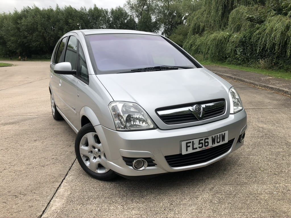 myCar UK - Vauxhall Meriva 1.4 i 16v Design 5dr (a/c)