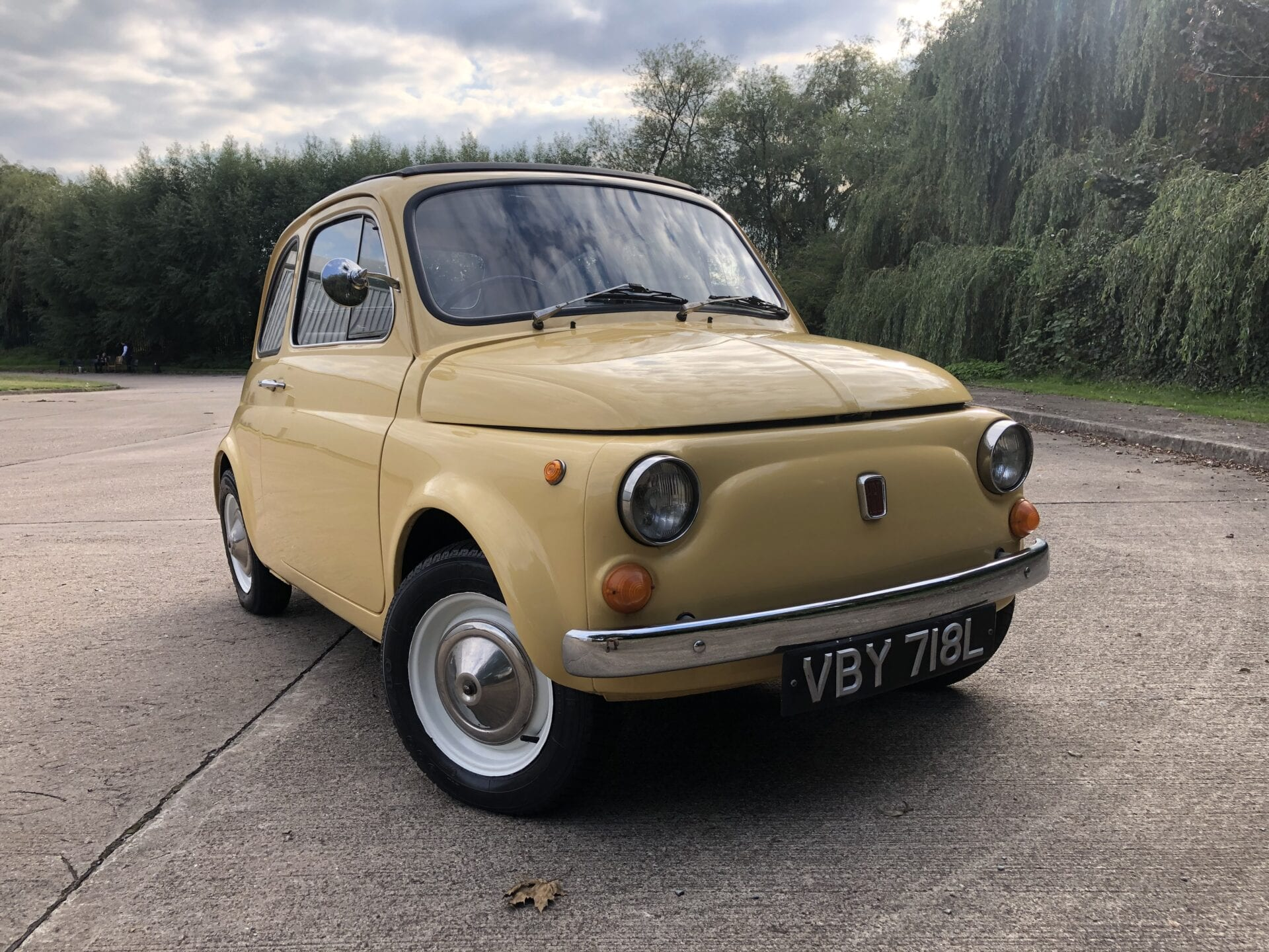 myCar UK - 1972 Fiat 500 RHD