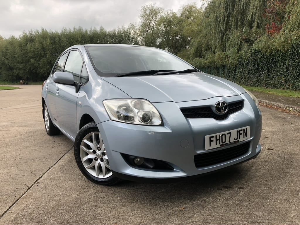 myCar UK - 2007 Toyota Auris  1.6 TR Multimode 5dr