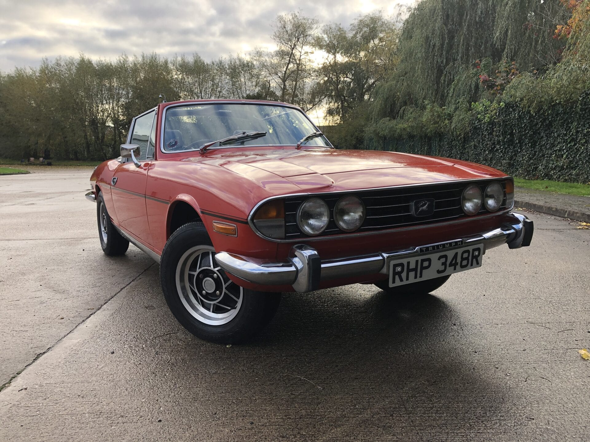 myCar UK - 1976 Triumph Stag 3.0 V8 Convertible