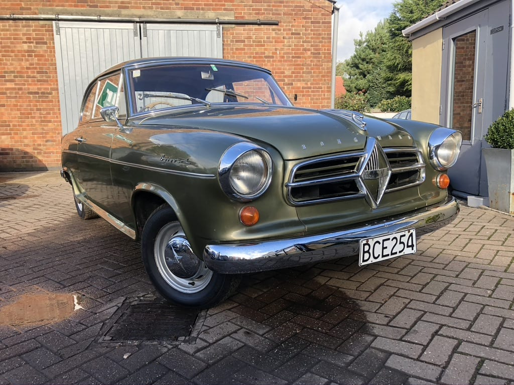 myCar UK - 1958 Borgward Isabella Saloon