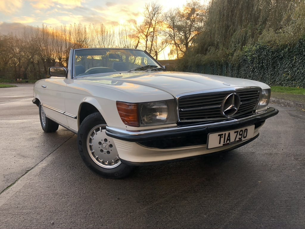 myCar UK - 1985 Mercedes-Benz SL 380 V8 R107