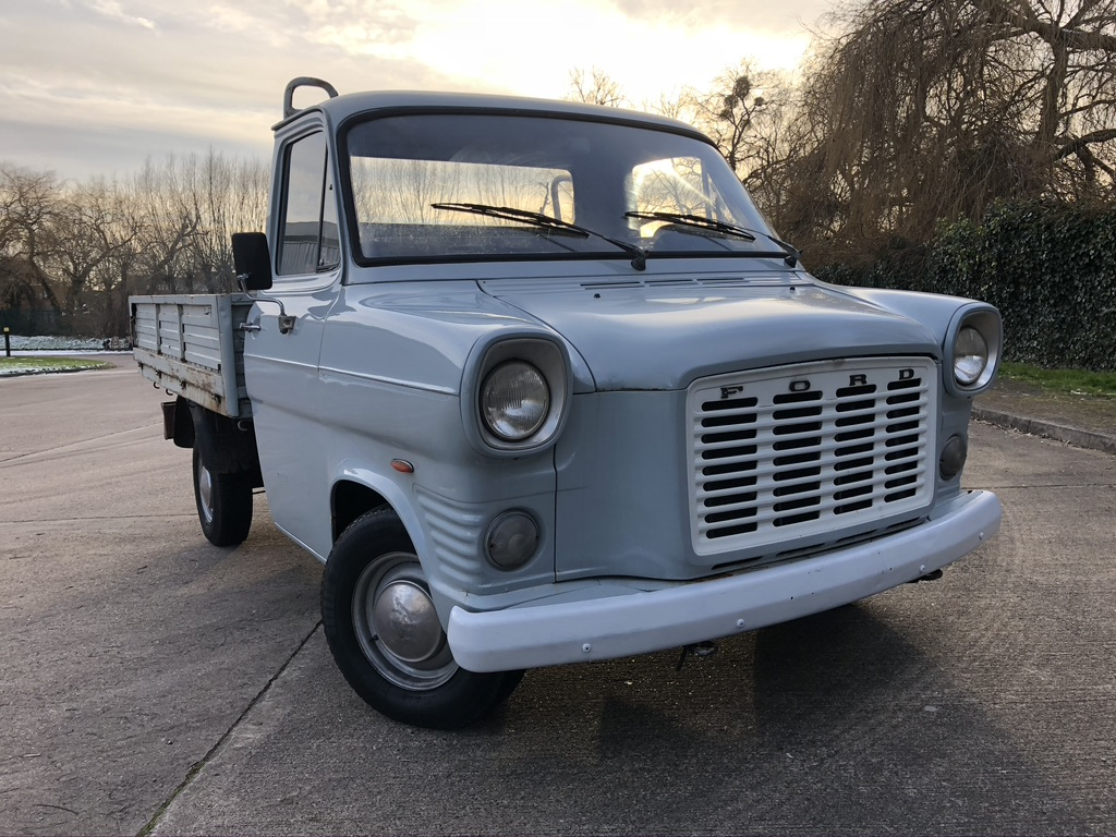 myCar UK - 1974 Ford Transit Mk1 Diesel SWB Pickup with Overdrive