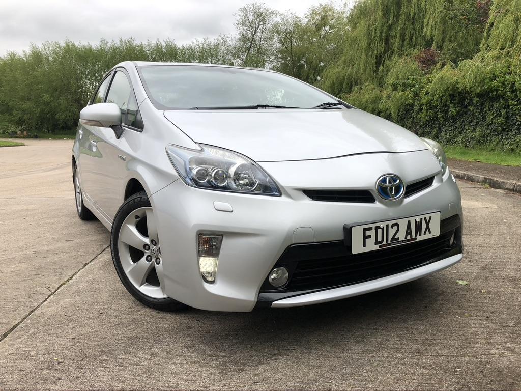 myCar UK - 2012 Toyota Prius 1.8 VVT-i T Spirit